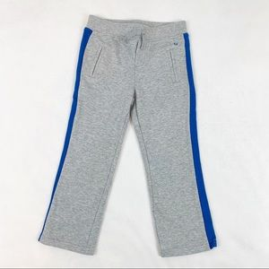 Janie and Jack striped sweatpants in gray